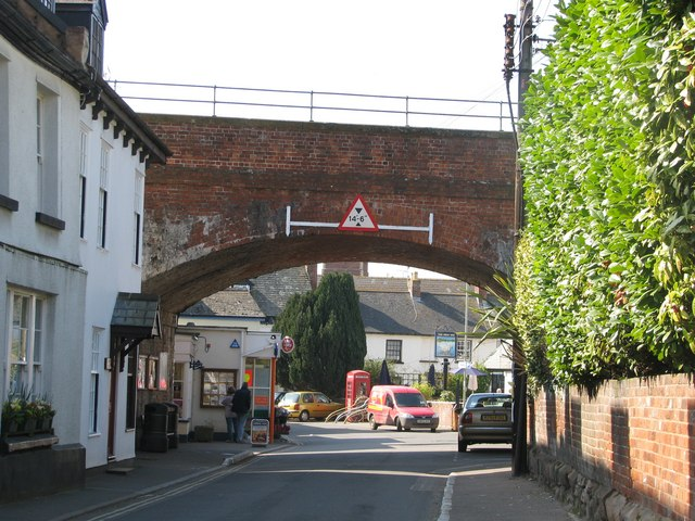 Railway bridge in Lympstone
