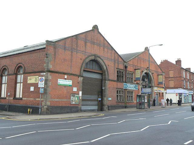 Sherwood Tram Depot