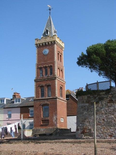 Lympstone clock tower