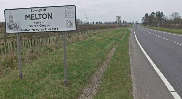 Entering the Borough of Melton