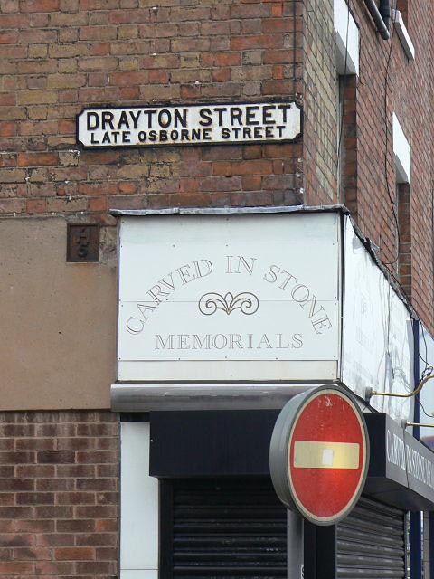 Drayton Street, late Osborne Street
