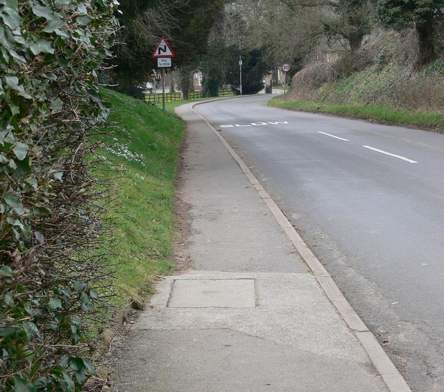 Brooksby Road near Brooksby Agricultural College