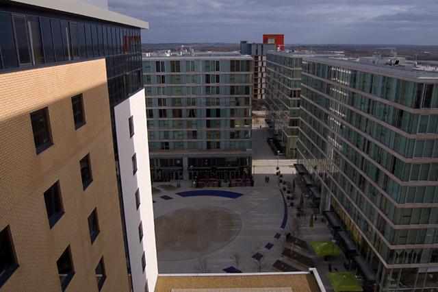 Milton Keynes apartment blocks