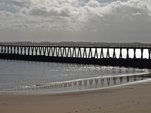 West Pier, Blyth