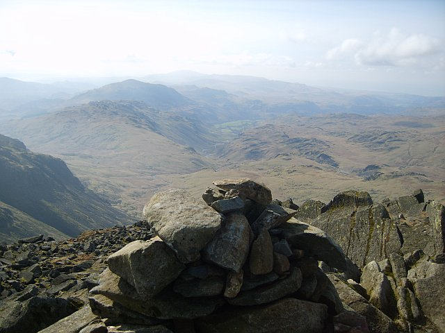 From Bowfell Summit