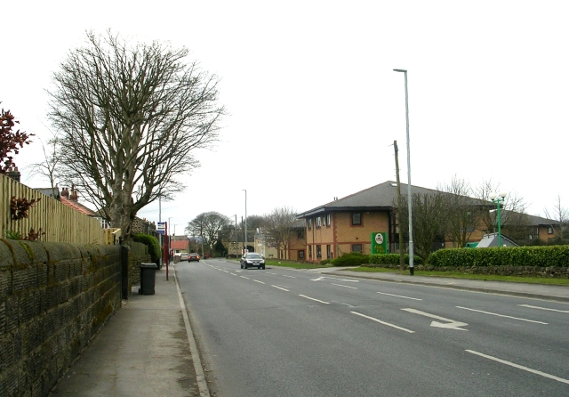 High Street, Yeadon - viewed from Victoria Avenue