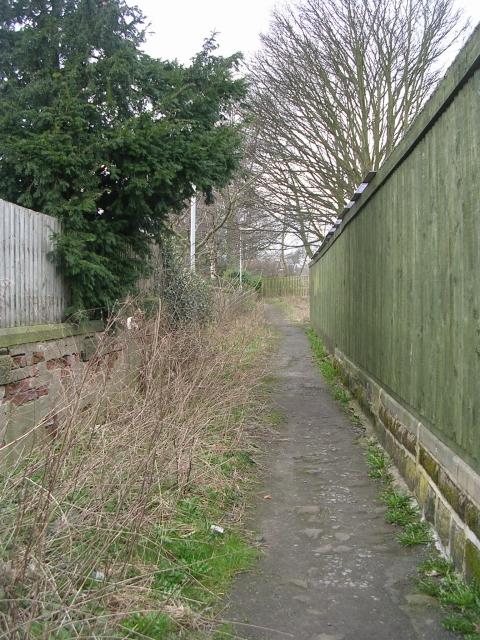 Footpath - Harrogate Road