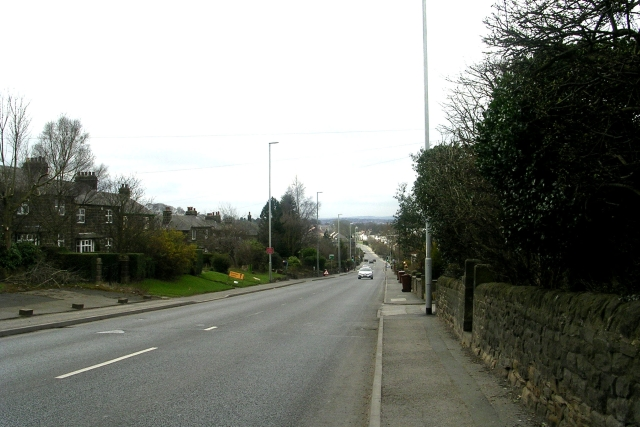 Harrogate Road - viewed from Moorfield Drive