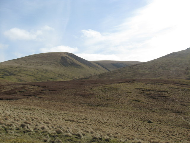 Rough grazing in the Borders hills