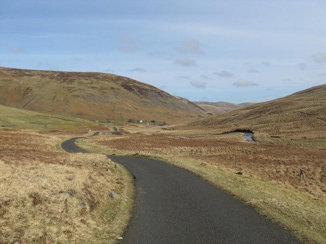 Looking back towards Meggethead