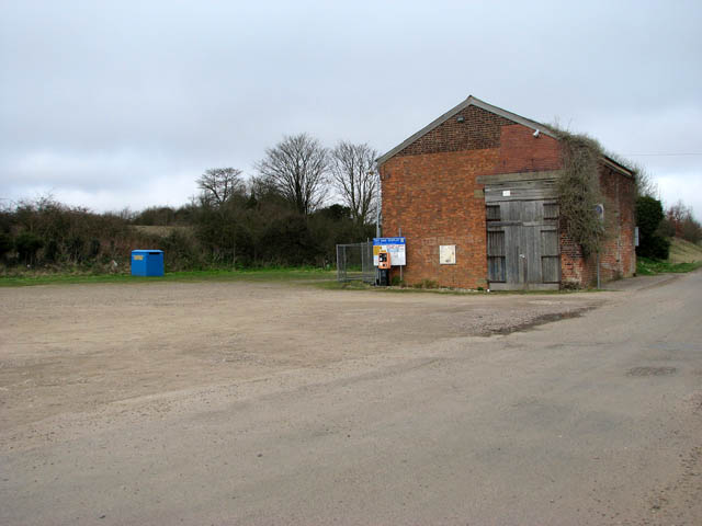 Goods shed at the former Walsingham railway station