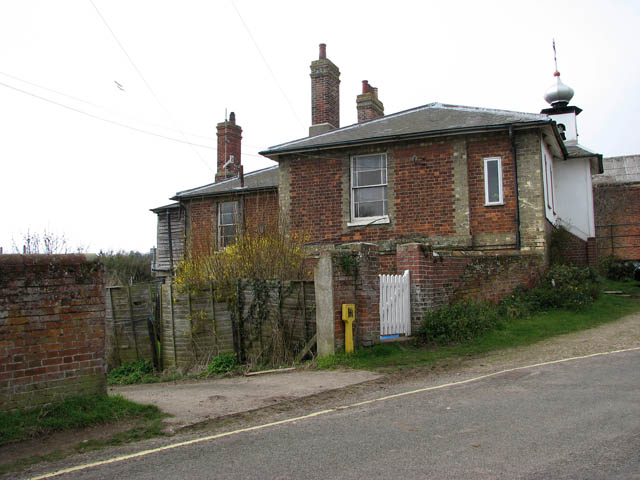 The former railway station in Walsingham