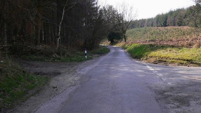 Road junction at Easebourne Street