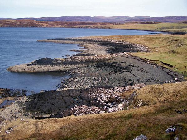 Coastline north of Fanks