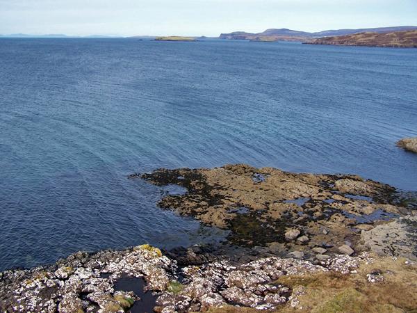 North facing shore of Loch Greshornish