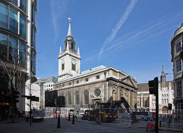 St Lawrence Jewry, Gresham Street, London EC2