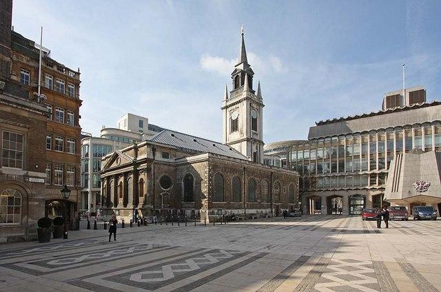 St Lawrence Jewry, Gresham Street, London EC2