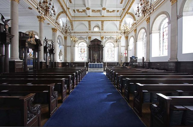 St Lawrence Jewry, Gresham Street, London EC2 - East end