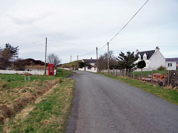 Old road through Bernisdale