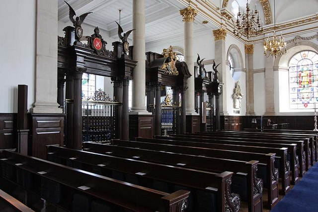 St Lawrence Jewry, Gresham Street, London EC2 - Interior