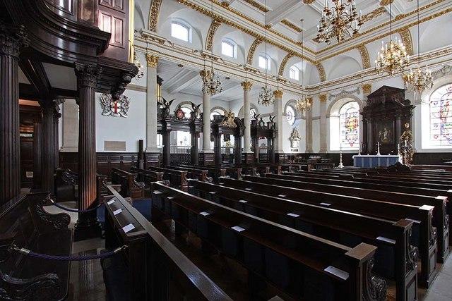 St Lawrence Jewry, Gresham Street, London EC2 - Interior