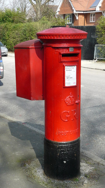 Postbox in Hillcrest Road