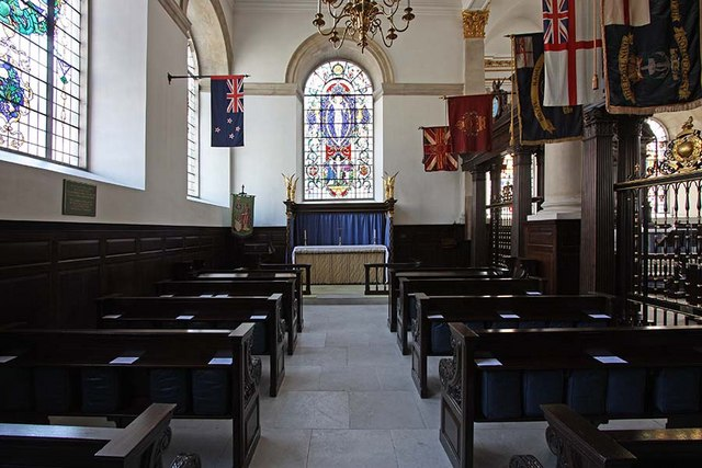 St Lawrence Jewry, Gresham Street, London EC2 - North chapel