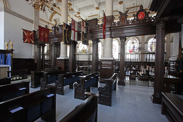 St Lawrence Jewry, Gresham Street, London EC2 - North chapel