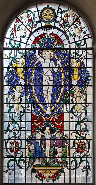 St Lawrence Jewry, Gresham Street, London EC2 - North chapel window