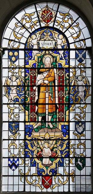 St Lawrence Jewry, Gresham Street, London EC2 - Window