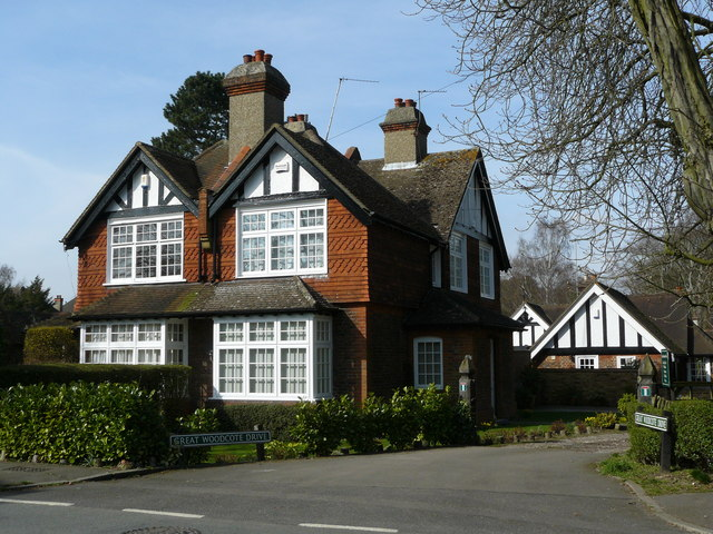 House at Great Woodcote Drive
