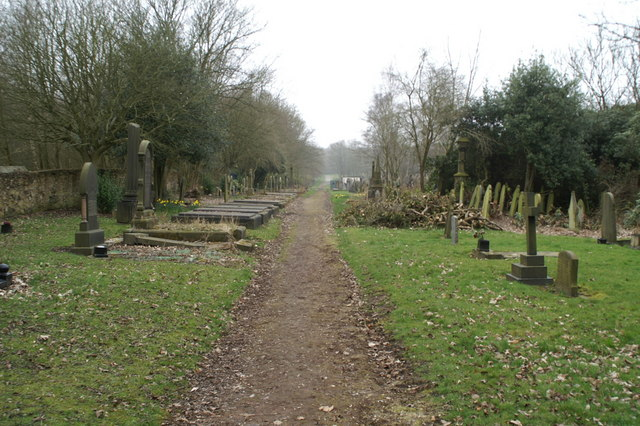 Clearance work, Wigan Cemetery, Ince-in-Makerfield
