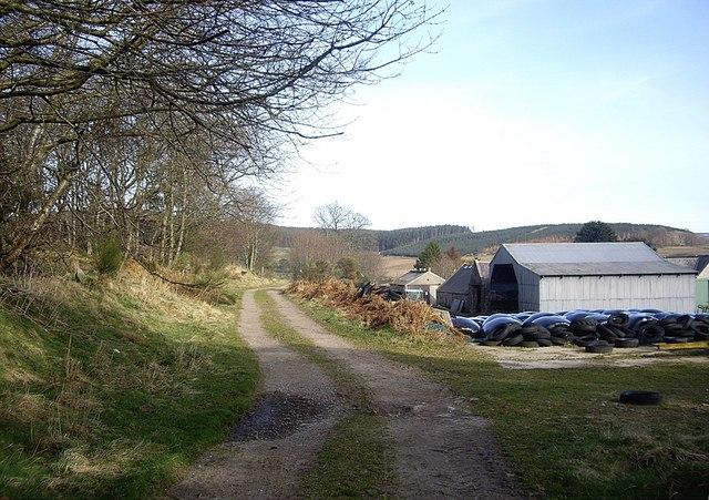 Balnacraig farmyard
