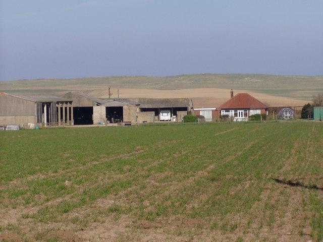 Bungalow Farm near Buckton Hall