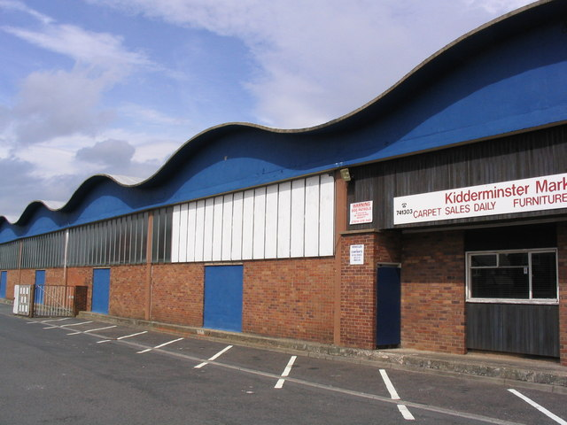 Wholesale Market Building, Kidderminster