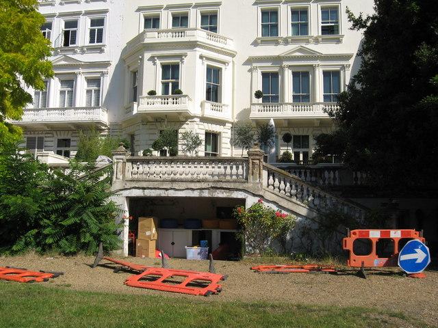 Staircase from Princes Gardens Kensington