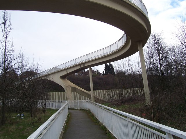 Spiral Footbridge