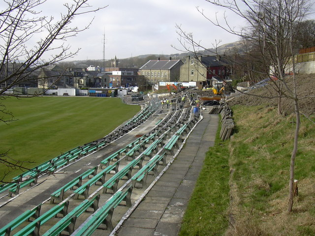 Demolition of the Cricket Clubhouse