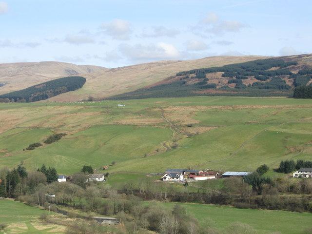 Farmlands of the Annan Valley