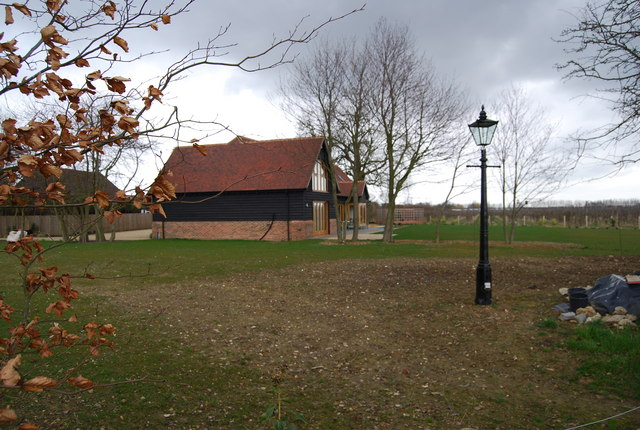 A new house built on the edge of Blean