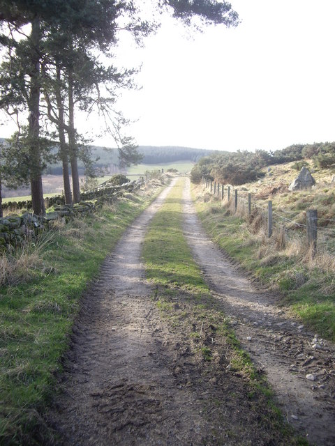Track from Balnacraig to Denhead