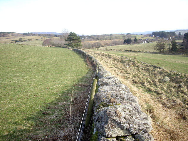 Up-line old Deeside railway