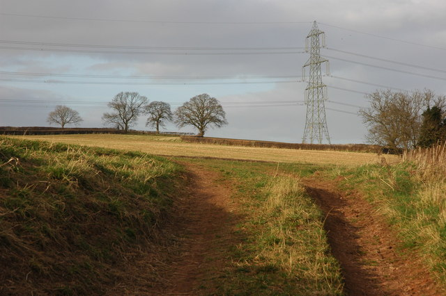 Power lines at Marstow
