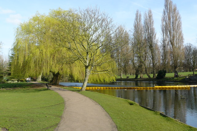 Parkland in Beddington Park