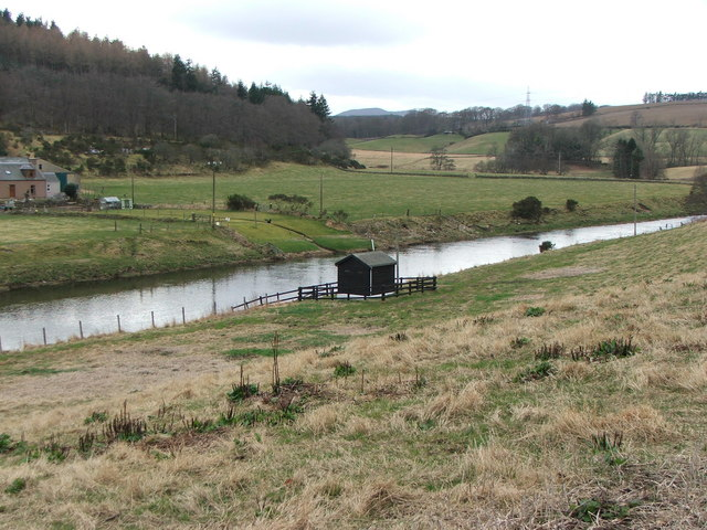 Water Testing Station on the River Don
