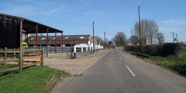 Farm Buildings at Plurenden Manor