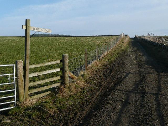 Track to Blair Atholl