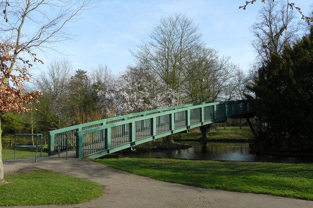 Footbridge in Beddington Park