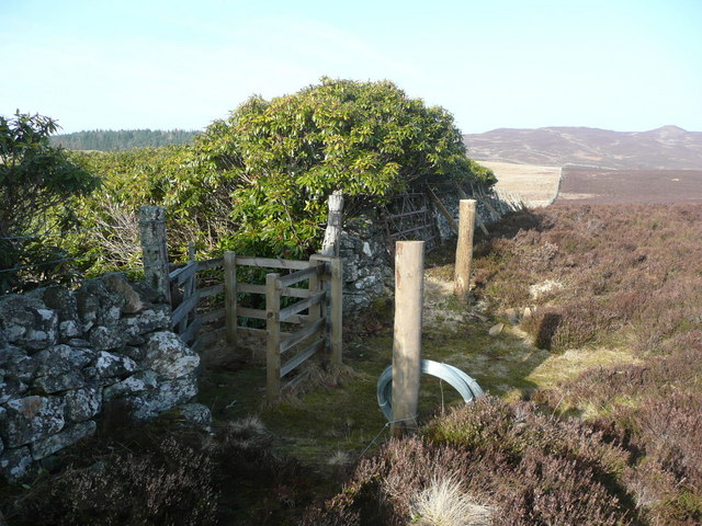 The high point on the path from Fincastle to Blair Atholl