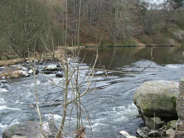 Weir at Black Pot of Ardtannes
